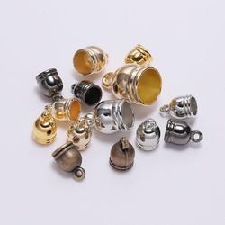 50pcs/lot Necklace End Tip Tassel Caps Beads Cap End Cap For Jewelry Making Findings DIY Handmade Accessories Supplies