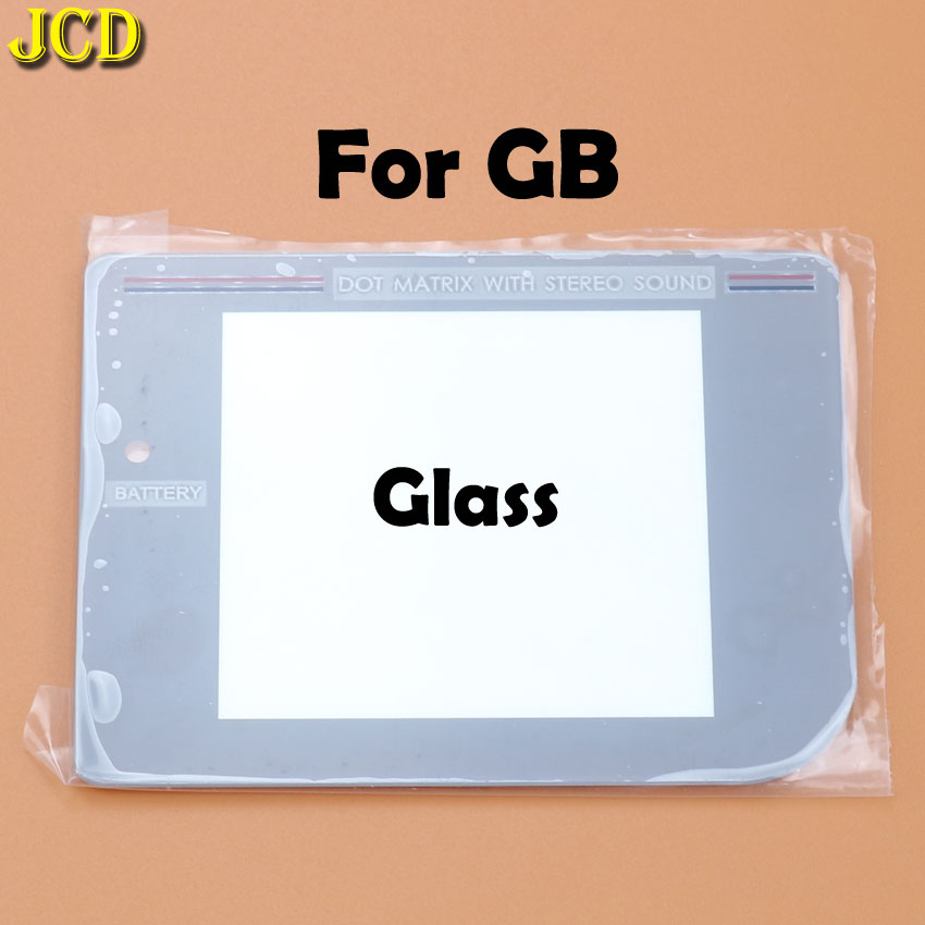 Image 3 - JCD 1Pcs New Glass Plastic Screen Lens cover For Nintend Gameboy Classic For GB Lens Protector-in Replacement Parts & Accessories from Consumer Electronics