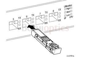 Image 3 - FWLF163226HW 2.5G DWDM D6 100G 120KM SM ESF Module
