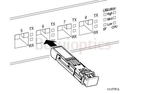 Image 3 - FWLF163226HW 2.5G DWDM D6 100G 120KM SM ESFโมดูล