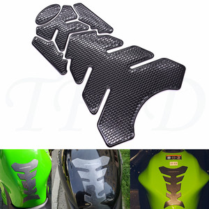 New fashion universal motorcycle decal gas fuel tank pad protection sticker for Kawasaki Z1000SX NINJA 1000 ZX-6 ER5 ZR750 ER6N(China)