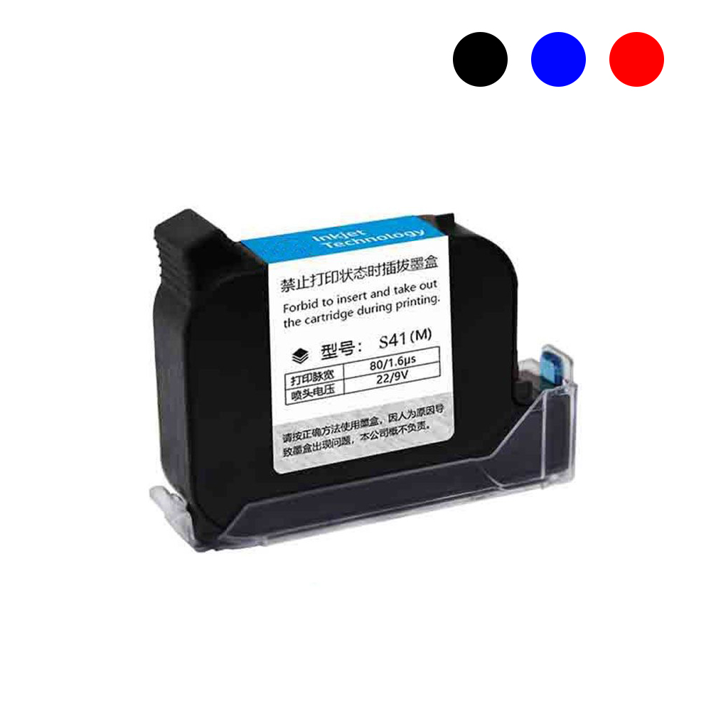 Jetvinner Water Base Solvent Base Ink Cartridge with Ink for Handheld Portable Printer use for Plastic, Metal, Wood, Paper, PVC