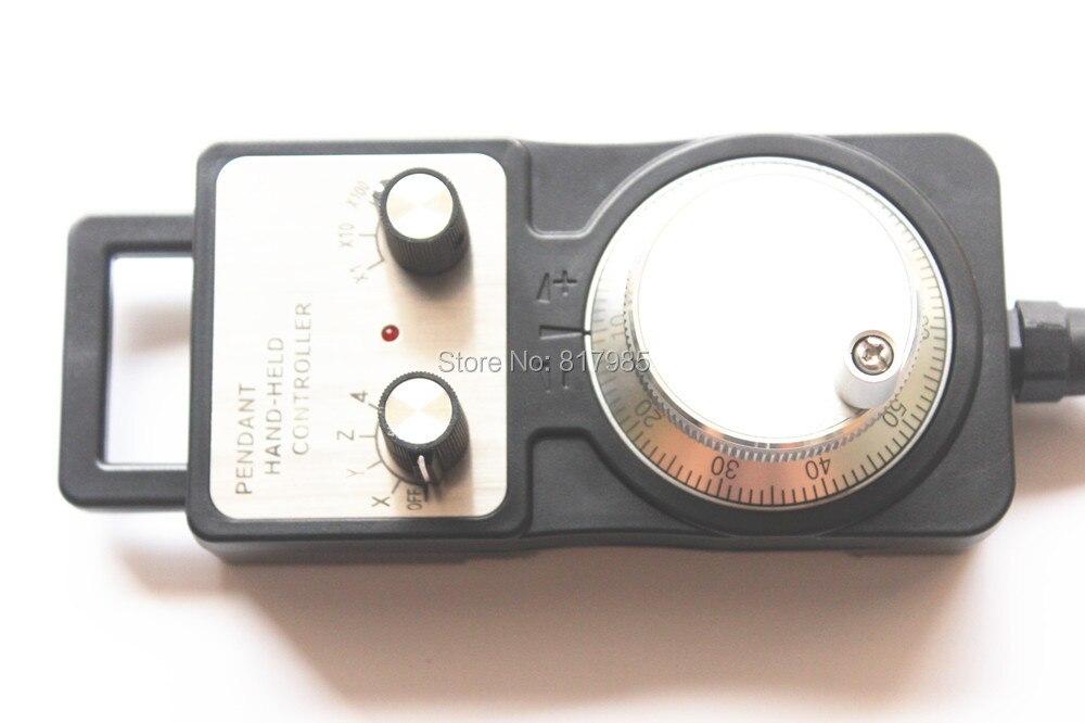Best 5V 12V 24V 4 Axis MPG Pendant Handwheel manual pulse generator for Siemens MITSUBISHI FANUC Fargo KND etc