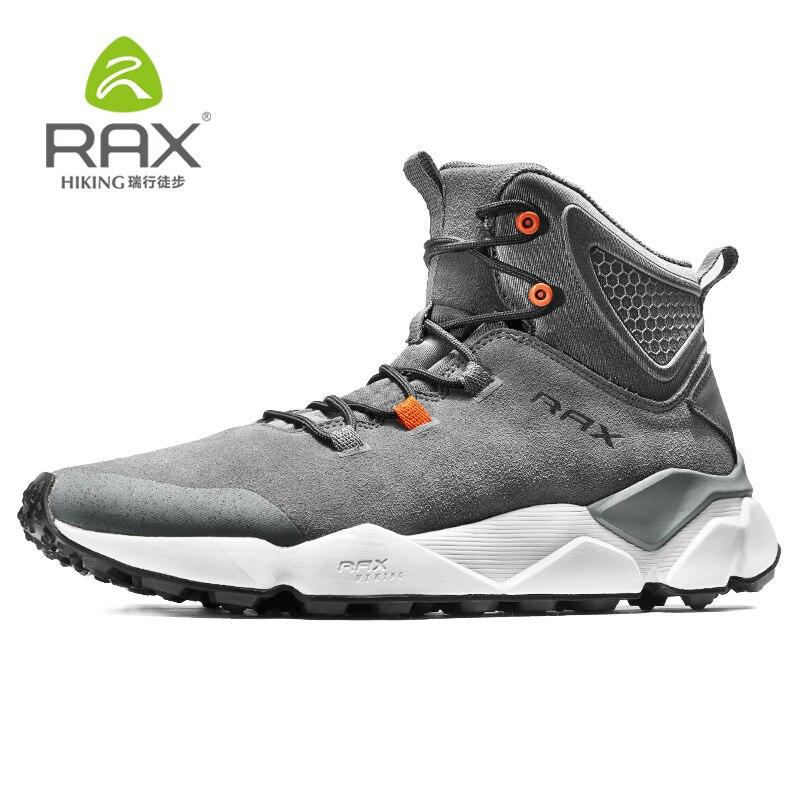 Rax 2019 Winter Newest Hiking Shoes Men Outdoor Sports Snearker for Men Mountain Boot  Antislip Warm Snow Boots Waterproof 470