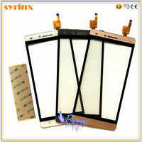 SYRINX Mobile phone Touch Screen Digitizer For Ark Benefit S502 Screen Touch Panel Touchscreen Sensor Front Glass Lens 3M tape