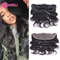 VIP Beauty Hair Pre Plucked Frontal Closure, 10A Mink Brazilian Virgin Hair Body Wave, 13x4 Ear to Ear Full Lace Frontal Closure