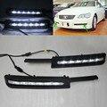 Waterproof 12V White LED Daytime Running Light DRL Fog Lamp For Toyota REIZ MARK X 2005 2006 2007 2008 2009