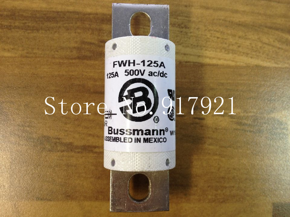 все цены на [ZOB] The United States Bussmann FWH-125A BUSS 500VAC/DC fuse fuse original  --3pcs/lot онлайн