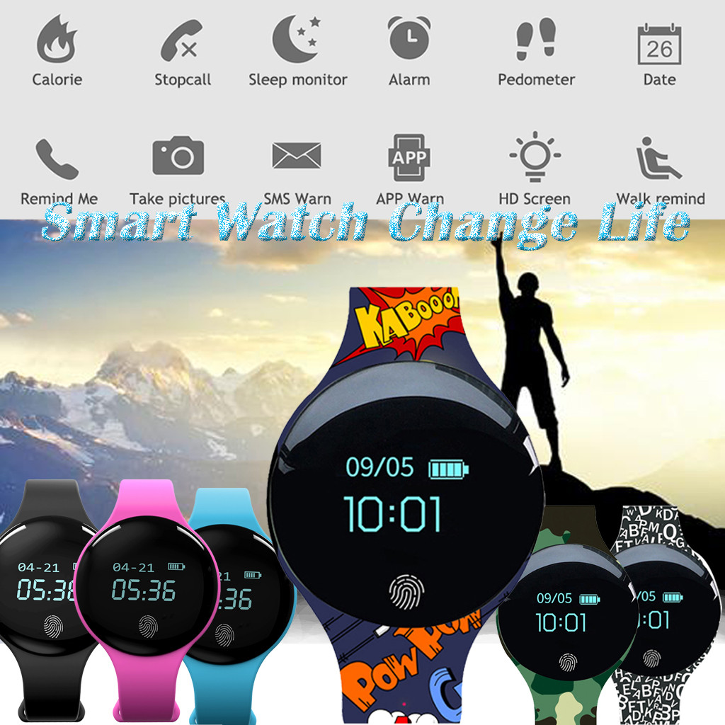 Smart Watch Waterproof Sport Smartwatch Activity Fitness Tracker Heart Rate