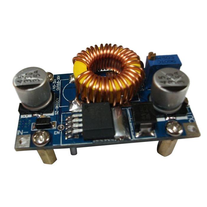 DC buck power supply module buck mode aircraft model car power input 5-42V output adjustable 5 12 / 24V