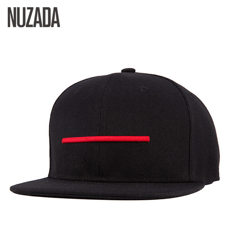 Brands NUZADA Snapback Bone Men Women Baseball Caps Quality Cotton Material Hats Hip Hop Simple Casual Style Cap
