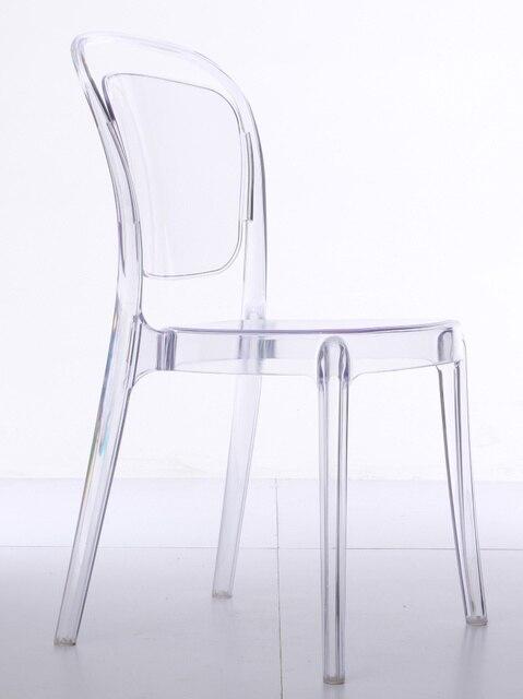 Plastikstuhl Ikea einfache moderne designer stühle pc transparent stuhl kreative