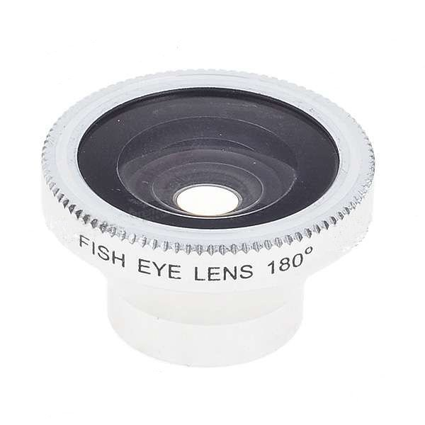 180 Degree Fish Eye Wide Angle Lens for Phone Camera + Free shipping with Tracking Number