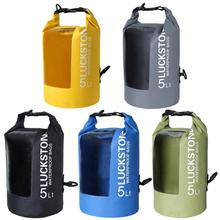 5L 10L 20L Transparent Backpack Outdoor swimming Waterproof Drifting Camping Bag Travel Kit Camping Rafting Storage Dry Bag