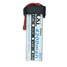 XXL RC Batterie 4200 mah 18.5 V 5S 35C MAX 70C RC Toys & Loisirs Pour Hélicoptères RC Modèles Li-polymère Batterie