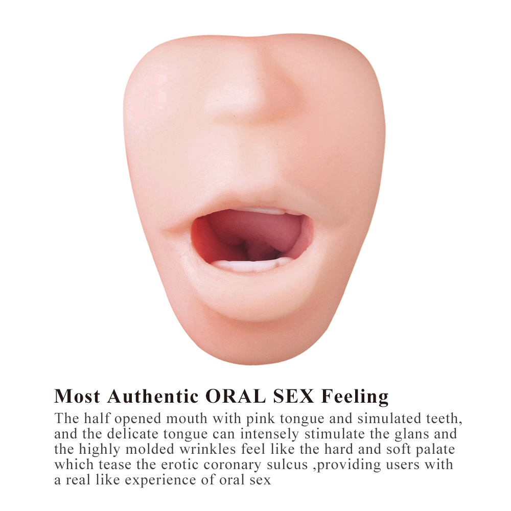 Oral sex without teeth