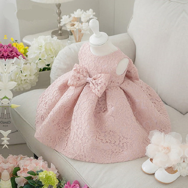 Princesse Bébé Filles Robe Baptême De Noël De Mariage Pageant Enfant Fille Vêtements Ceinture Infantile Robes de Soirée filles robe