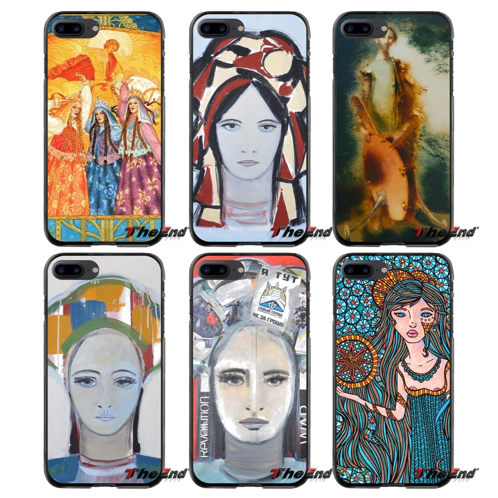 Accessories Phone Shell Covers Zorya art For Apple iPhone 4 4S 5 5S 5C SE 6 6S 7 8 Plus X iPod Touch 4 5 6