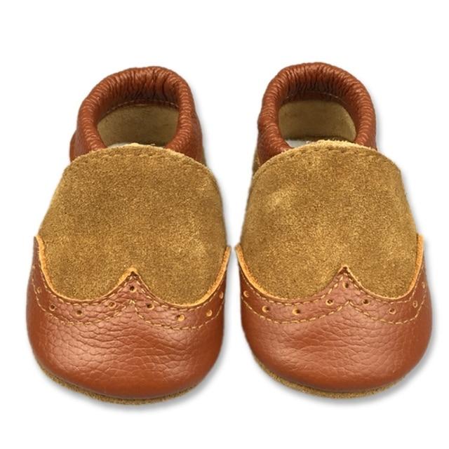 grand choix de 5f55a d9c02 € 9.61 15% de réduction|Bébé Premier Marcheur du Nouveau Né Bébé Garçons  Chaussures En Cuir Souple En Bas Âge Chaussures Fille Nouveau Né ...