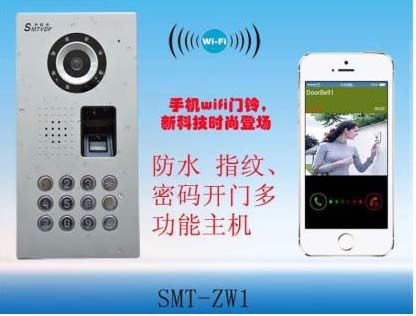 SMTVDP New doorbell ,WIFI doorbell , mobile or tablet PC remote controll, password or fi ...