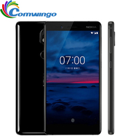 Unlocked Original Nokia 7 64G ROM 16MP Camera Dual Sim 5 2inch Octa Core 4G LTE