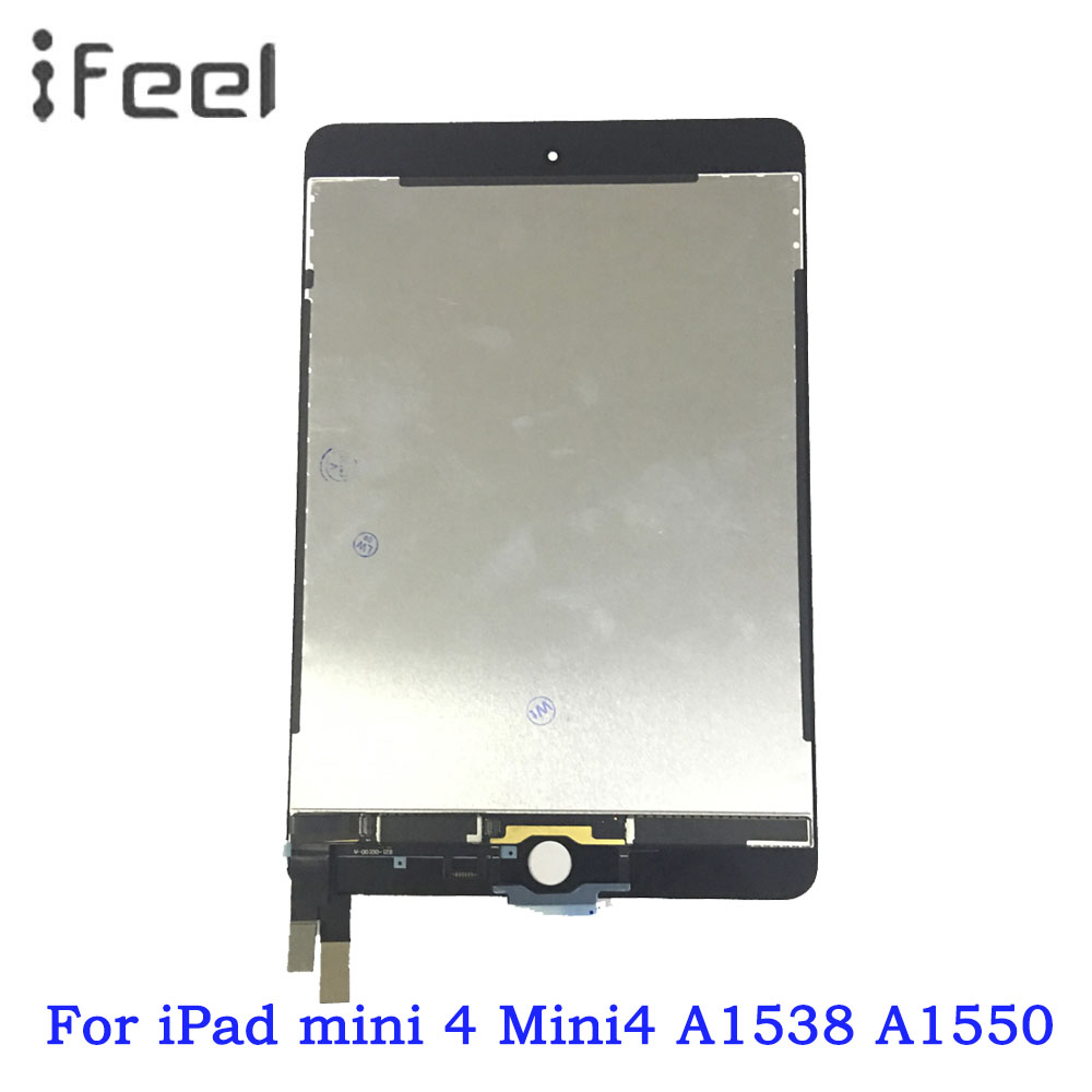 New LCD Display Touch Screen Panel Assembly Replacement For iPad Mini 4 A1538 A1550 LCD Replacement PartNew LCD Display Touch Screen Panel Assembly Replacement For iPad Mini 4 A1538 A1550 LCD Replacement Part