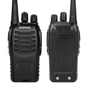 Image 2 - Baofeng BF 888S Walkie Talkie 5W Handheld Pofung bf 888s UHF 400 470MHz 16CH Two way Portable CB Radio Free shipping