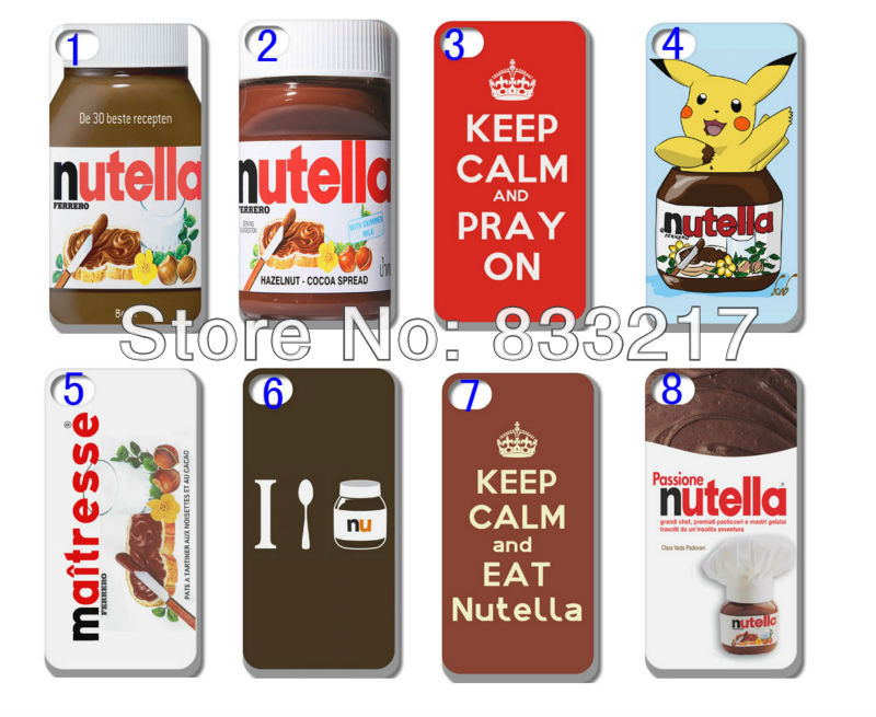 Hot s Nutella hard white case cover iphone 4 4G 4S + - customizecases store