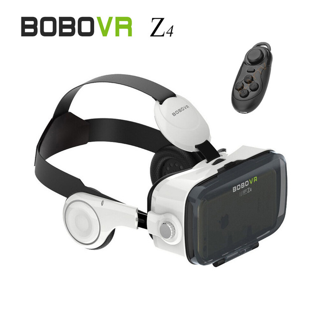 "[Genuine] 2016 New Xiaozhai BOBOVR Z4 3D Glasses Virtual Reality Headphone Google Cardboard with Bluetooth controller  ""4.7-6"""