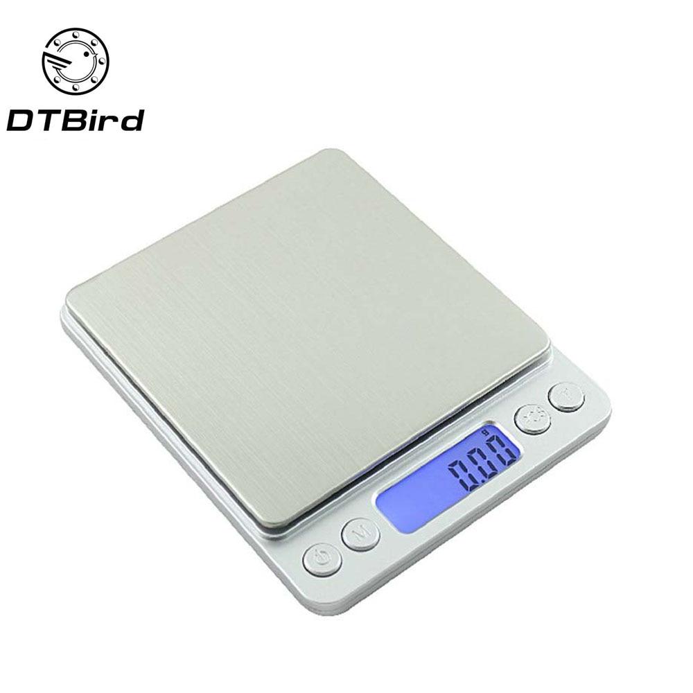 3000g 0 1g Portable Mini font b Electronic b font Digital Scales Pocket Case Postal Kitchen