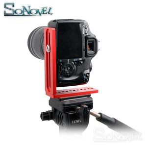 Image 5 - Vertical Shoot Quick Release L Plate Bracket Grip Base Holder for Canon Nikon DSLR Camera & Zhiyun DJI Gimbal Stabilizer