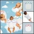 O Suor do bebê Toalha Infantil de Volta Suave Pano de Limpeza Seca Bebê Asas de Anjo de Volta Gaze Absorver Toalha 100% Algodão Camadas Duplas