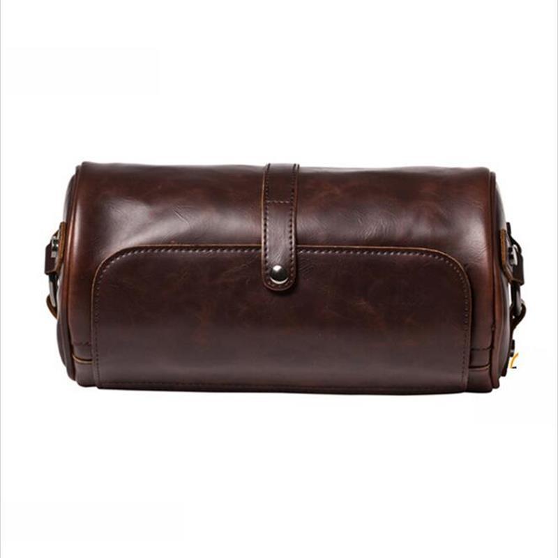 2016 Famous Brand Leather Men Shoulder Bag Casual Business Satchel Mens Messenger Bag Vintage Men's Crossbody Bag bolsas male