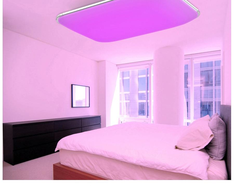 Plafoniera Led Rgb : Großhandel moderne led deckenleuchten für wohnzimmer quadrat lüster