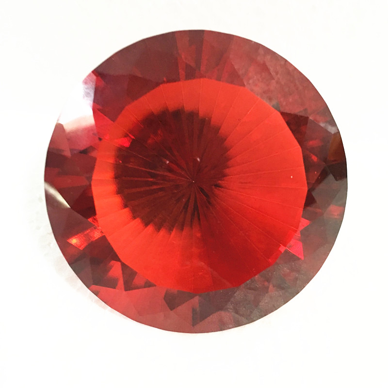 100mm Red 1pcs Quartz Crystal Glass Diamond Gems Paperweights Feng Shui Stone Crafts For Home Wedding Vase Decor Favors & Gifts100mm Red 1pcs Quartz Crystal Glass Diamond Gems Paperweights Feng Shui Stone Crafts For Home Wedding Vase Decor Favors & Gifts