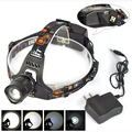 Hot sale1200 Lumen Headlamp Head Light  XM-L T6 LED Top quality Head Lamp 5 modes Led  Lamp Zoomable Camping Headlight
