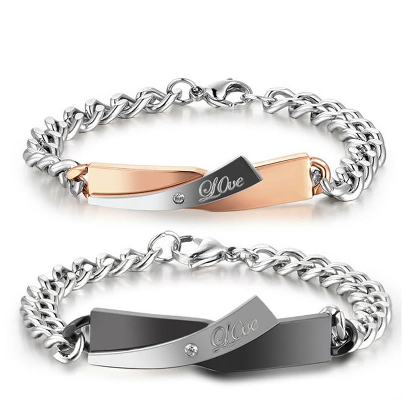 aziz bekkaoui love bracelets diy unique gift couple. Black Bedroom Furniture Sets. Home Design Ideas