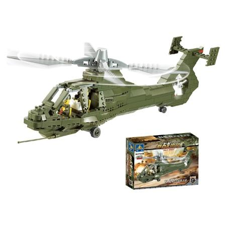 KAZI model building kits compatible with lego city plane 675 3D blocks Educational model & building toys hobbies for children