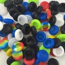 120 pièces/lot Silicone caoutchouc 8pin/10pin clé protecteur pouce poignées Joystick casquettes pour Xbox One / Xbox 360 / Sony PS4 Slim Pro/ PS3