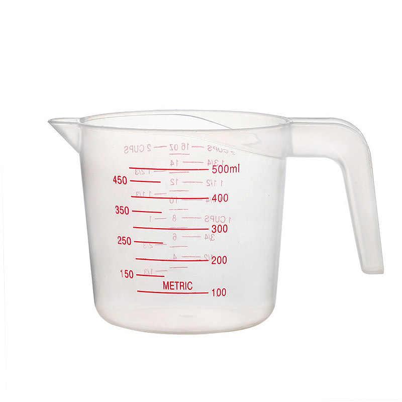 GOONBQ 250/500/1000 ML Measuring Cup Plastic Jug  Graduated Liquid Measuring Jug  Jarra Medidora Tazas Medidoras Tool