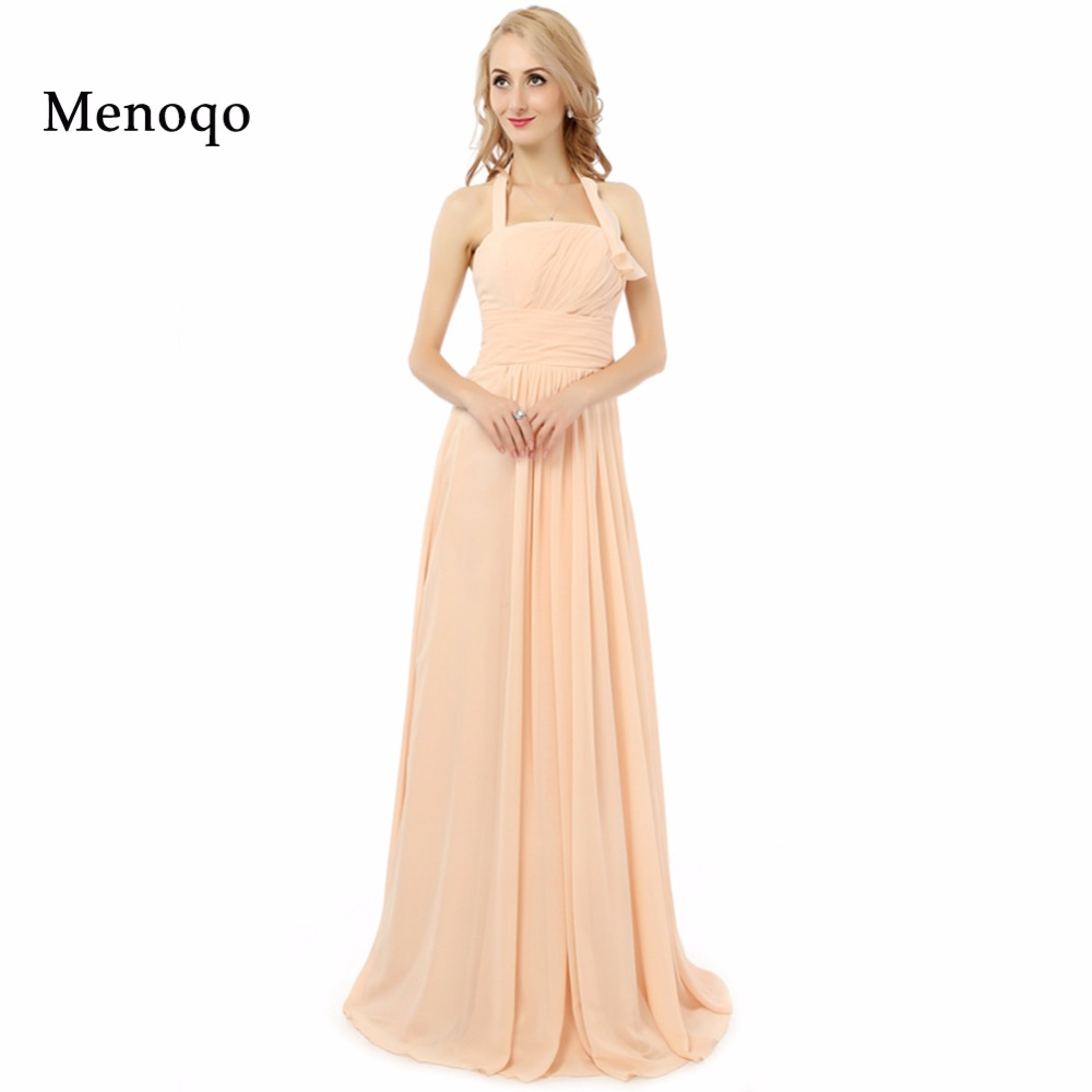 2019 New Arrival Sweet A line Long   Bridesmaid     Dresses   Real Picture Plus size   Bridesmaid     Dresses   Party Gowns Vestidos Para Festa