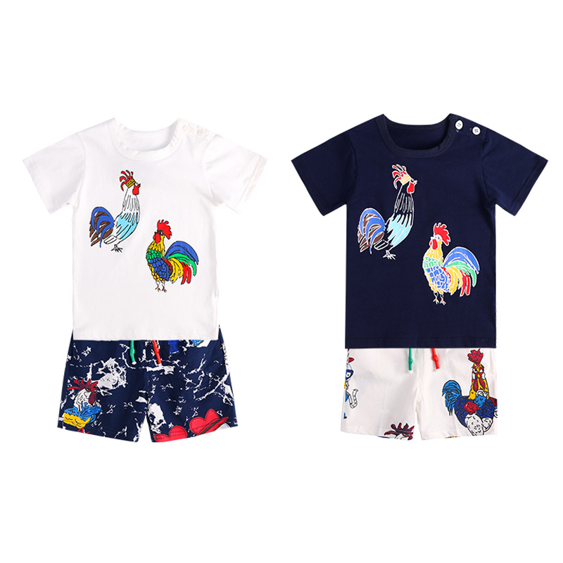 Nieuwe zomer baby set jongen in 2018 kleding sets grappige lul - Babykleding - Foto 2