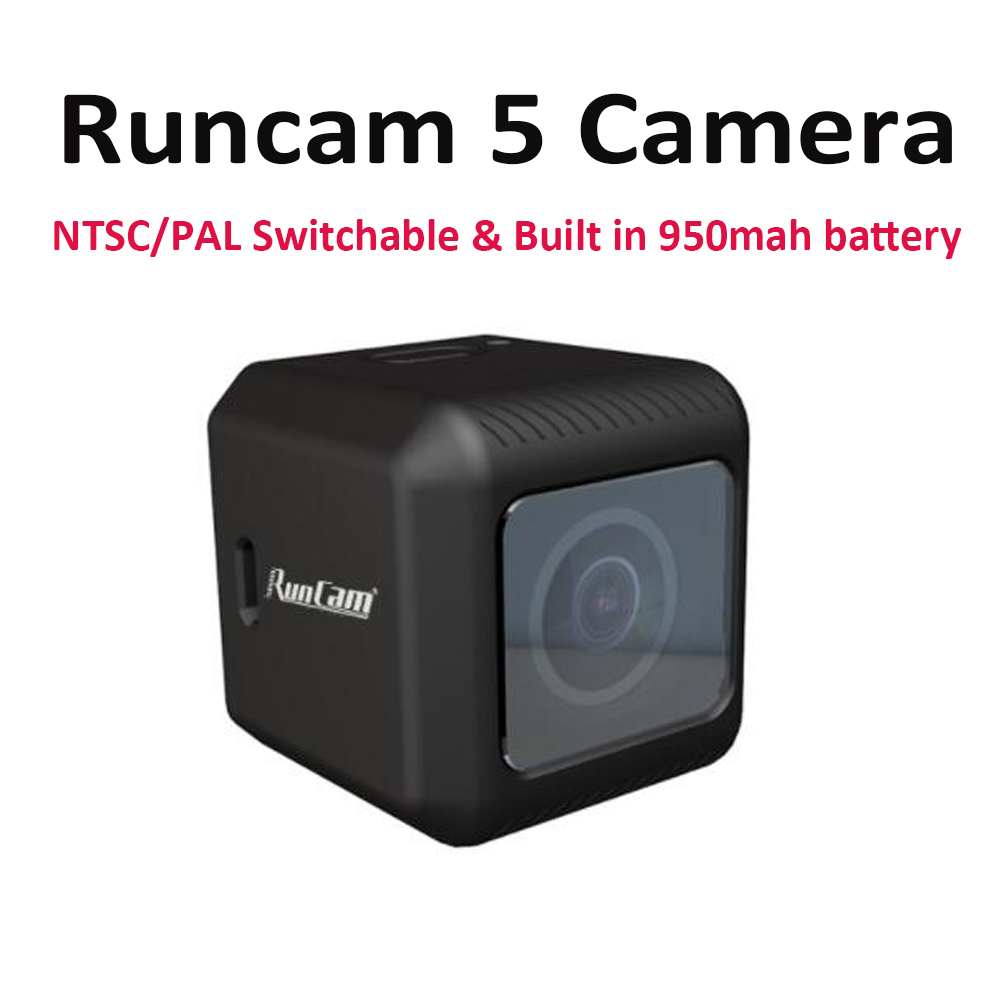 Runcam5 Runcam 5 1080 120FPS NTSC PAL Switchable 56g High Performance FPV video Recording Built in