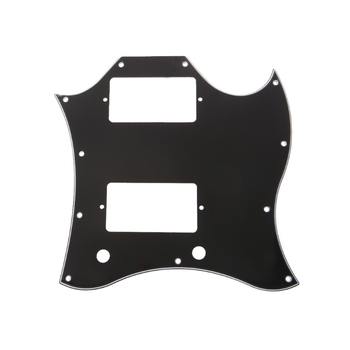 Guitar pickguard Accessories Full Face Pickguard Scratch Plate for SG Style Guitar Parts Replacement dropshipping 5pcs electric guitar pickguard for yamaha pacifica 112v replacement 3ply white pearl
