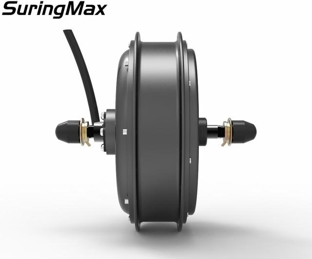 V2 50H magnet 48-96V 5000W DC brushless rear hub motor for electric conversion kit,elec electric bike,electric bicycle