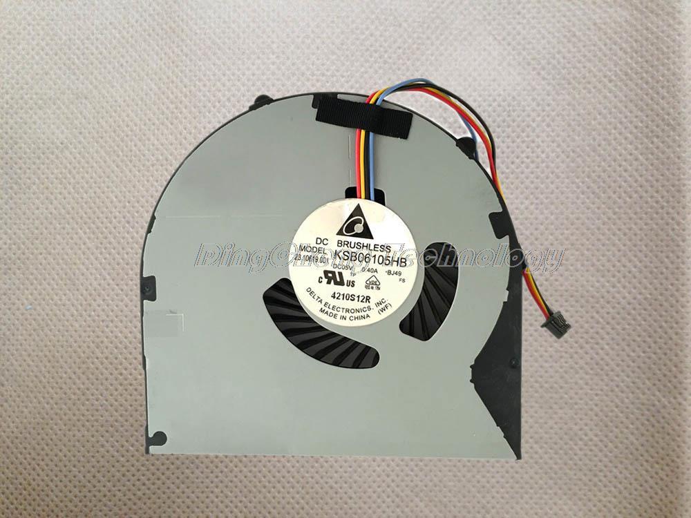 BJ49 LENOVO B480 B480A B485-B490 B590 M490 M495 E49 CPU Cooling Fan KSB06105HB