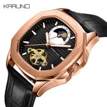 MCE мужские часы автоматические часы Relogio Masculinol модные кожаные механические часы для мужчин Tourbillon Мужские наручные часы