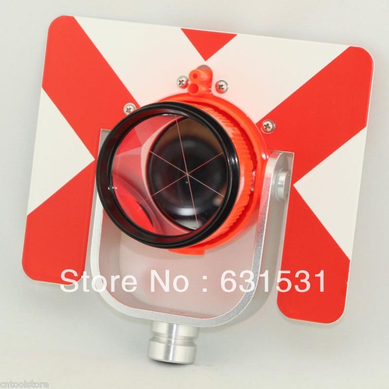 Red Color All Metal Prism Set w Bag for Total Station