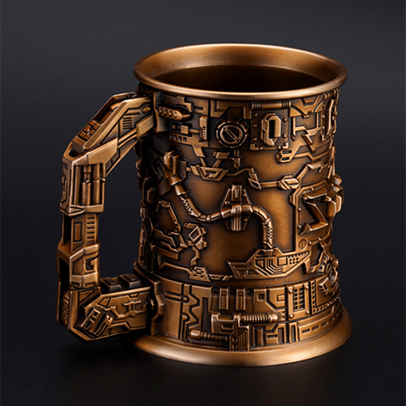 купить Artware Seiko Crafts Classic Bronze Beer Mug Cup Arts And Crafts Home Furnishings Works Of Art Decoration Boxed W184 недорого