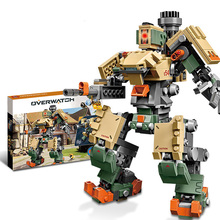 SLPF 602PCS Mech Fortress Compatible Legoing  Educational Assembling Model Kit Diy Building Blocks Brick Toys For Children I31 цены
